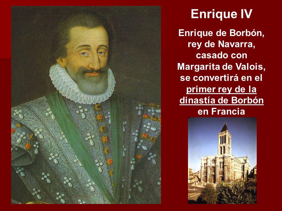 Enrique I de Lorraine duque de Guisa Jefe del partido católico (Santa Liga de París) Gaspard de Coligny Almirante de Francia Jefe del partido protesta