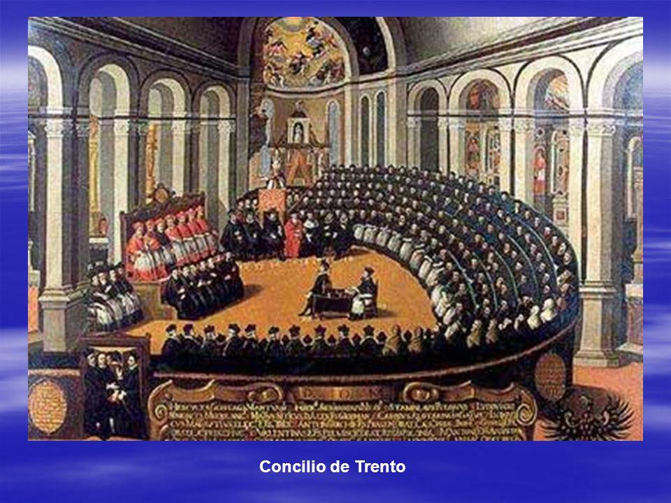 La Contrarreforma. Pablo III y el Concilio de Trento (1545-1563). Pablo III y el Concilio de Trento (1545-1563). Ignacio de Loyola y la Compañía de Je