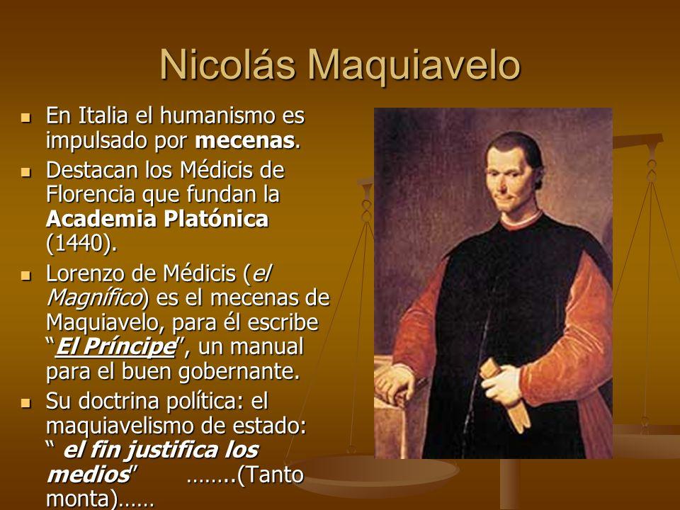 Tomás Moro Su pensamiento se basa en la moral cristiana. Su pensamiento se basa en la moral cristiana. Utopía (1516), describe una sociedad idealUtopí