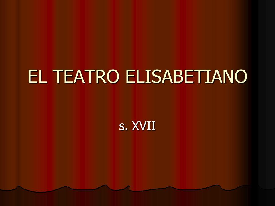 EL TEATRO ELISABETIANO s. XVII