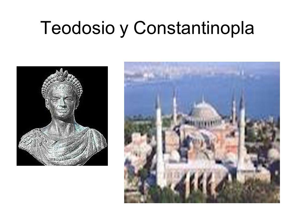 Teodosio y Constantinopla