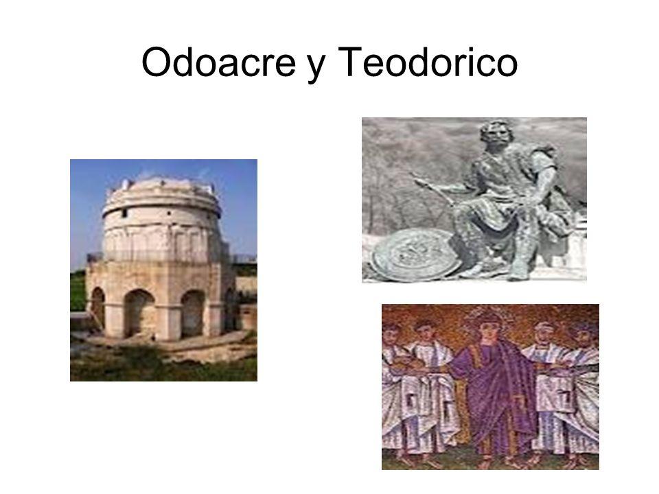 Odoacre y Teodorico