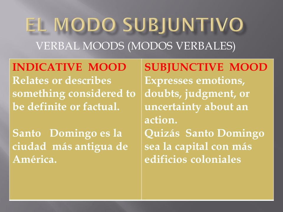 The present subjunctive is formed very much like usted and ustedes and negative tú commands.