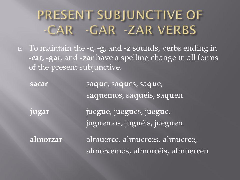 Completa las oraciones con la forma correcta del verbo.