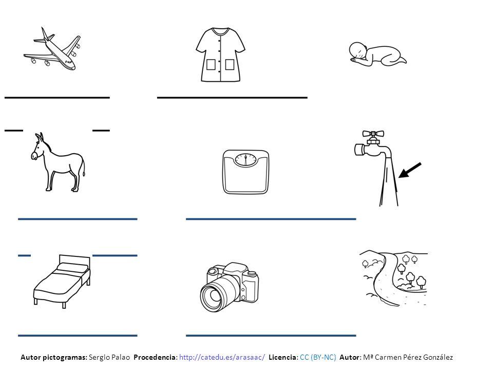 _______ __________ _______ Autor pictogramas: Sergio Palao Procedencia: http://catedu.es/arasaac/ Licencia: CC (BY-NC) Autor: Mª Carmen Pérez González