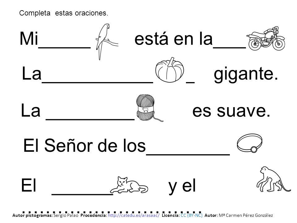 _______ __________ _________ _______ __________ _______ Autor pictogramas: Sergio Palao Procedencia: http://catedu.es/arasaac/ Licencia: CC (BY-NC) Autor: Mª Carmen Pérez González