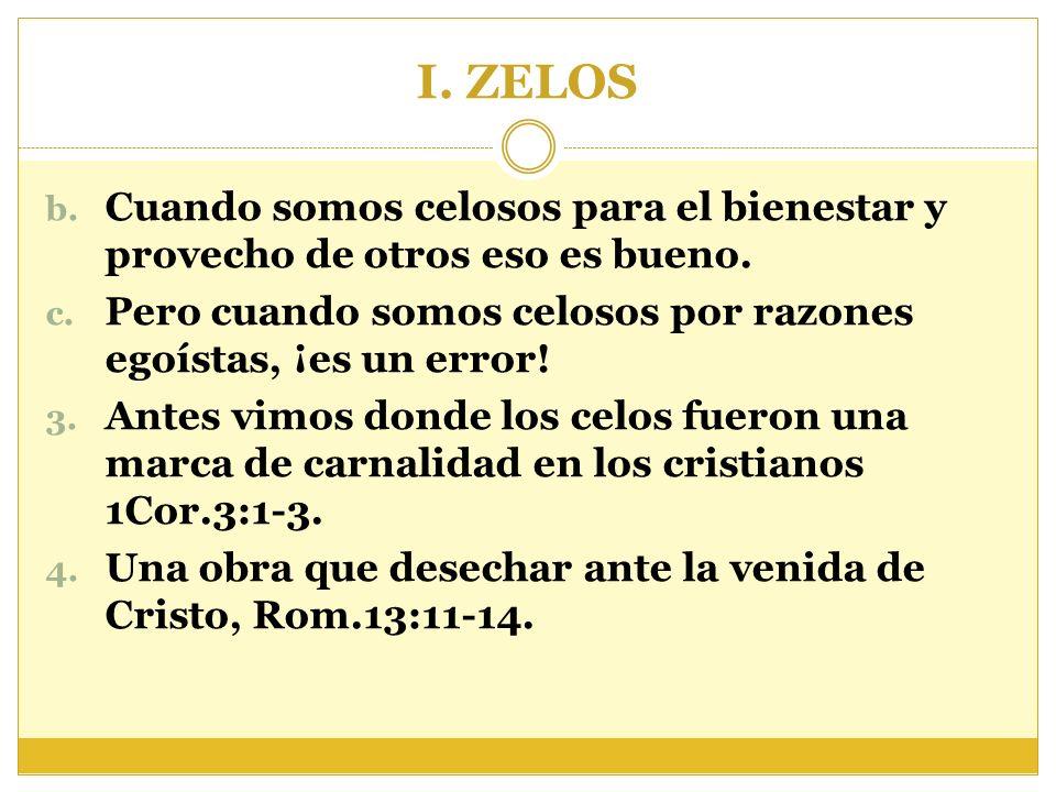 II.PHTHONOS, envidia A. Comparando con zelos. 1.