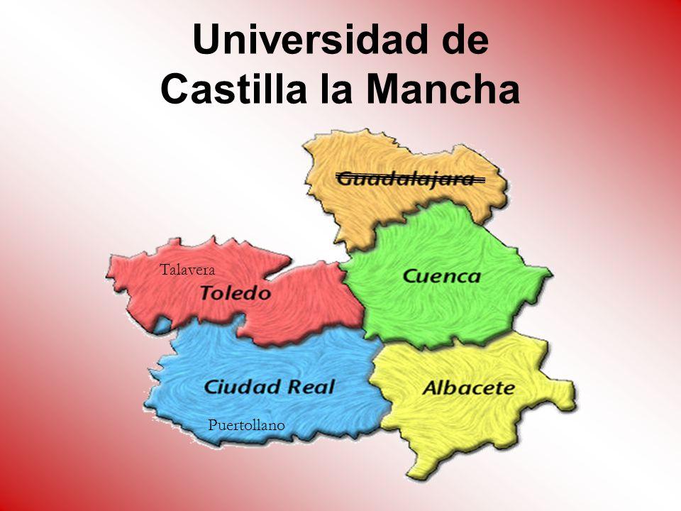 Universidad de Castilla la Mancha Puertollano Talavera