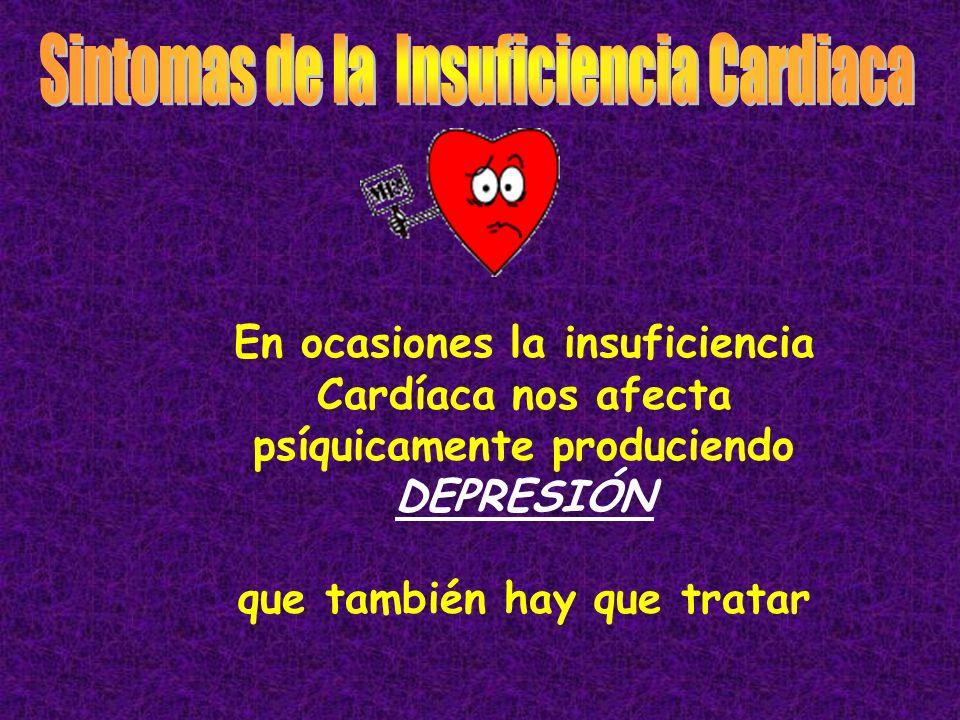 Todas las enfermedades que afectan al corazón pueden causar insuficiencia Cardíaca