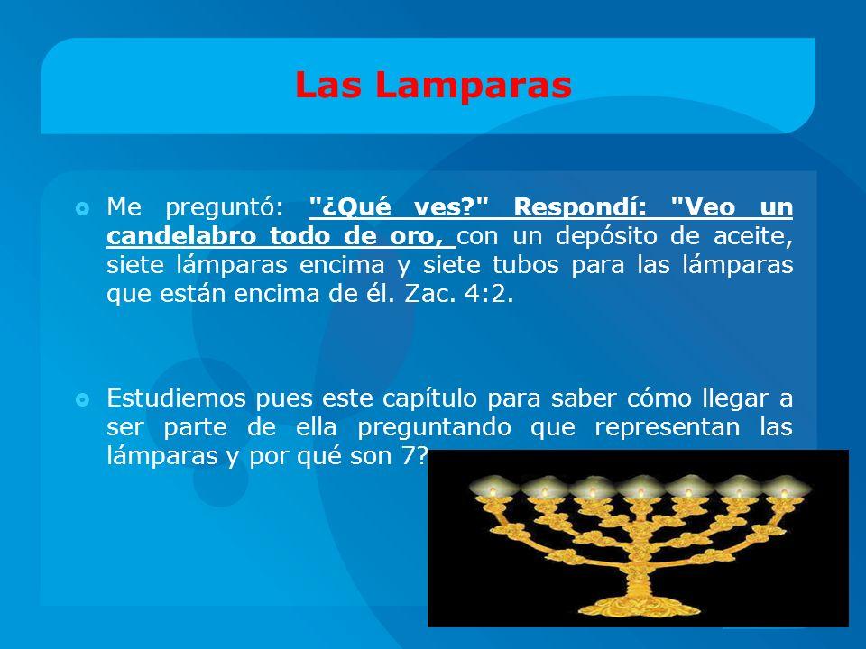 Las Lamparas Me preguntó: