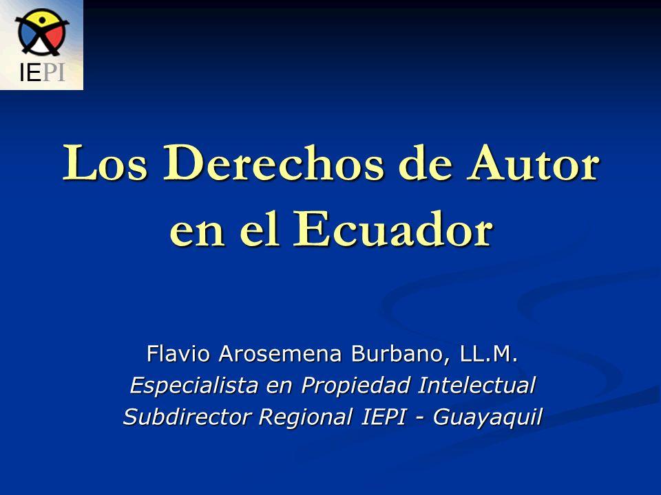 Principales Normas que regulan los Derechos de Autor en el Ecuador - La DECISIÓN 351 de la Comisión de la Comunidad Andina.