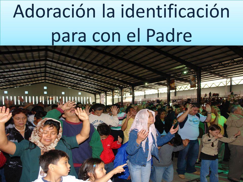 Adoración la identificación para con el Padre