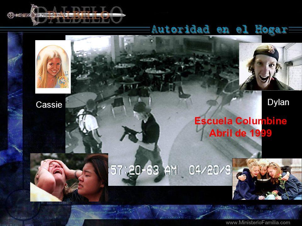 Cassie Dylan Escuela Columbine Abril de 1999