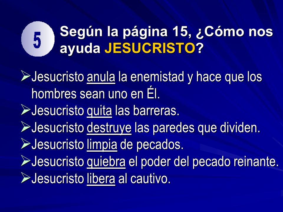 jesucristo fiel plan dios: