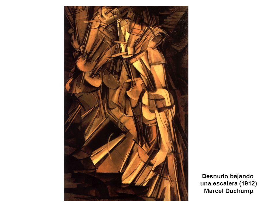 Desnudo bajando una escalera (1912) Marcel Duchamp