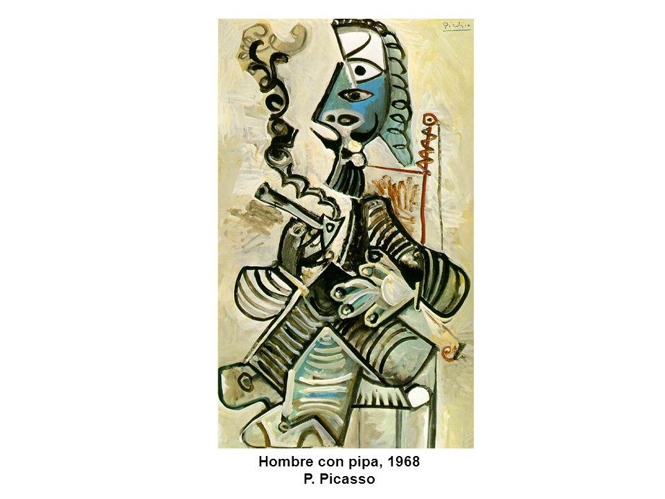 Hombre con pipa, 1968 P. Picasso
