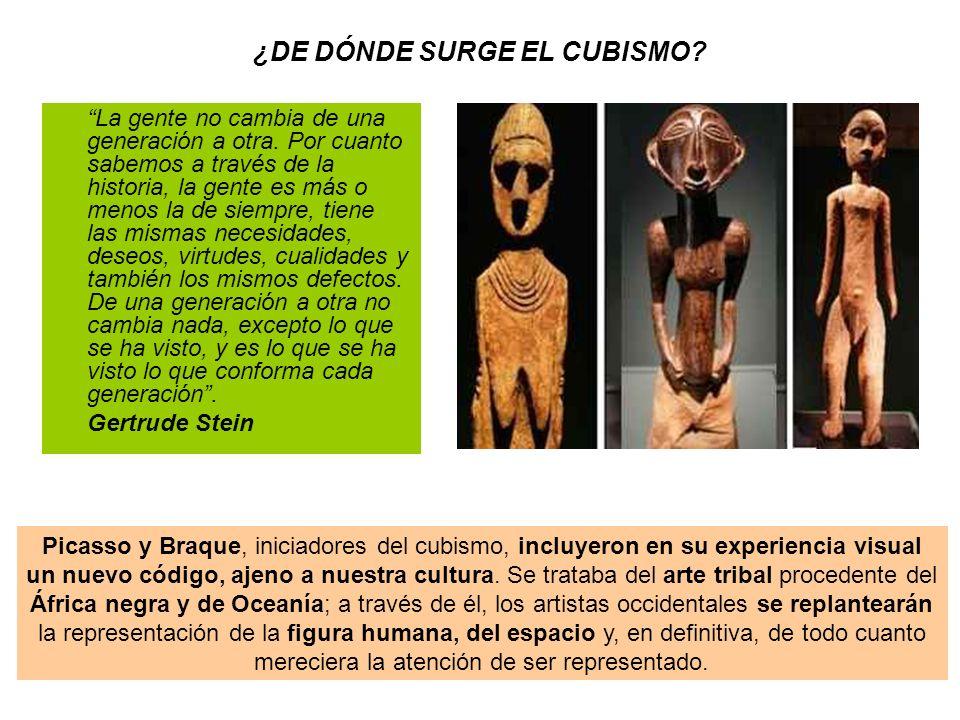 3.Fase sintética, el collage como paso previo a la escultura: En esta fase se dio un nuevo paso.