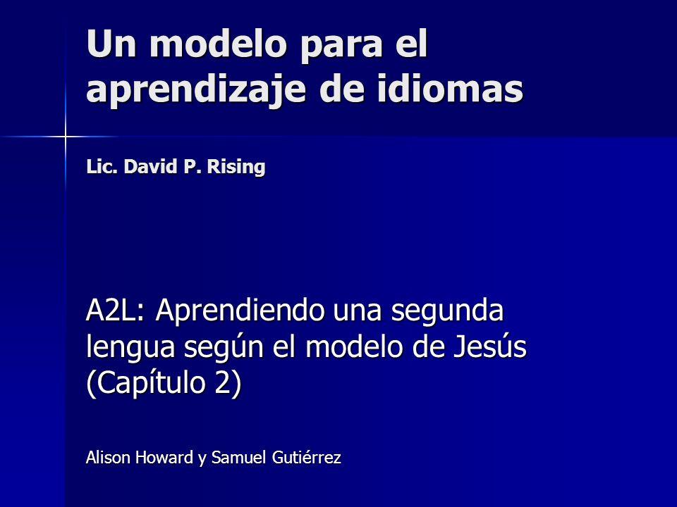 Elementos de un modelo Medio Medio –Herramientas, cómo se aprende.