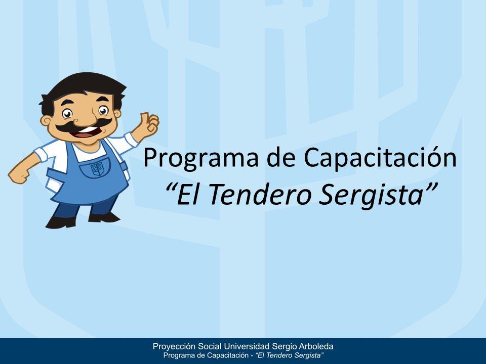 Programa de Capacitación El Tendero Sergista