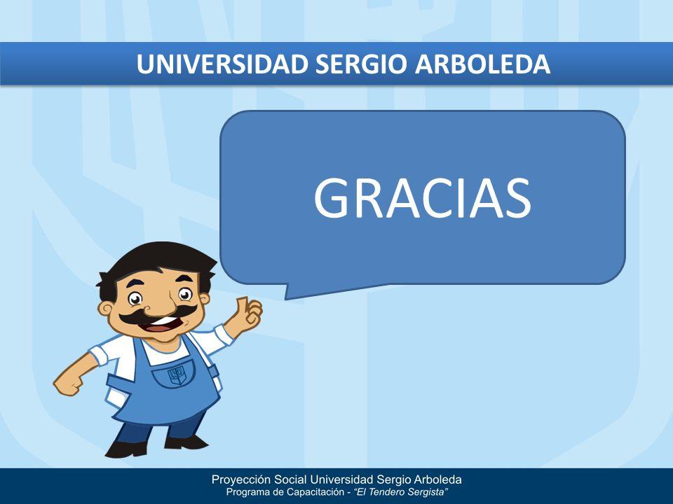 GRACIAS UNIVERSIDAD SERGIO ARBOLEDA