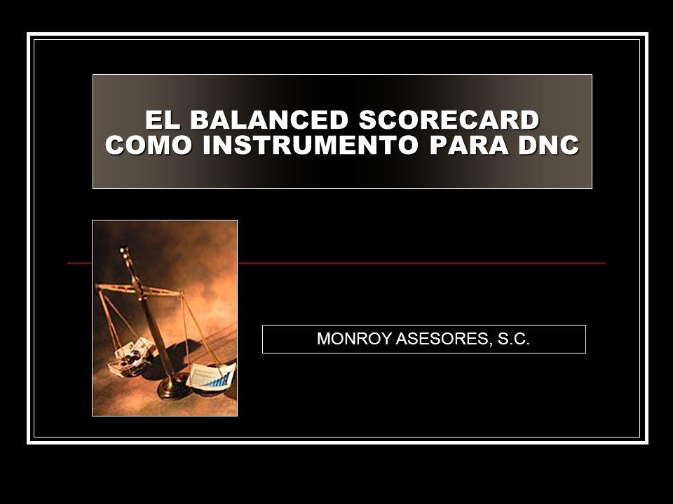 EL BALANCED SCORECARD COMO INSTRUMENTO PARA DNC MONROY ASESORES, S.C.
