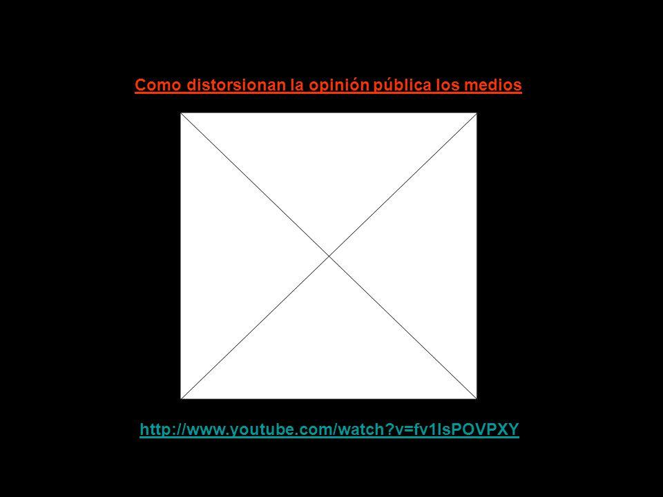 http://www.youtube.com/watch v=3QgiKWKryOI Eduardo Galeano y los medios de incomunicación (00:24 min)