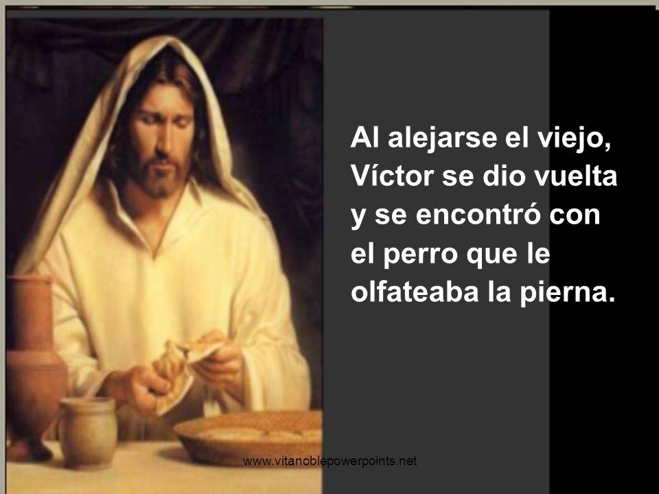 ¿Sabe? -su voz se tornó en un susurro- … Esto que hemos comido es el pan de Cristo. Una señora me lo dijo cuando me dio aquellas monedas para comprarl