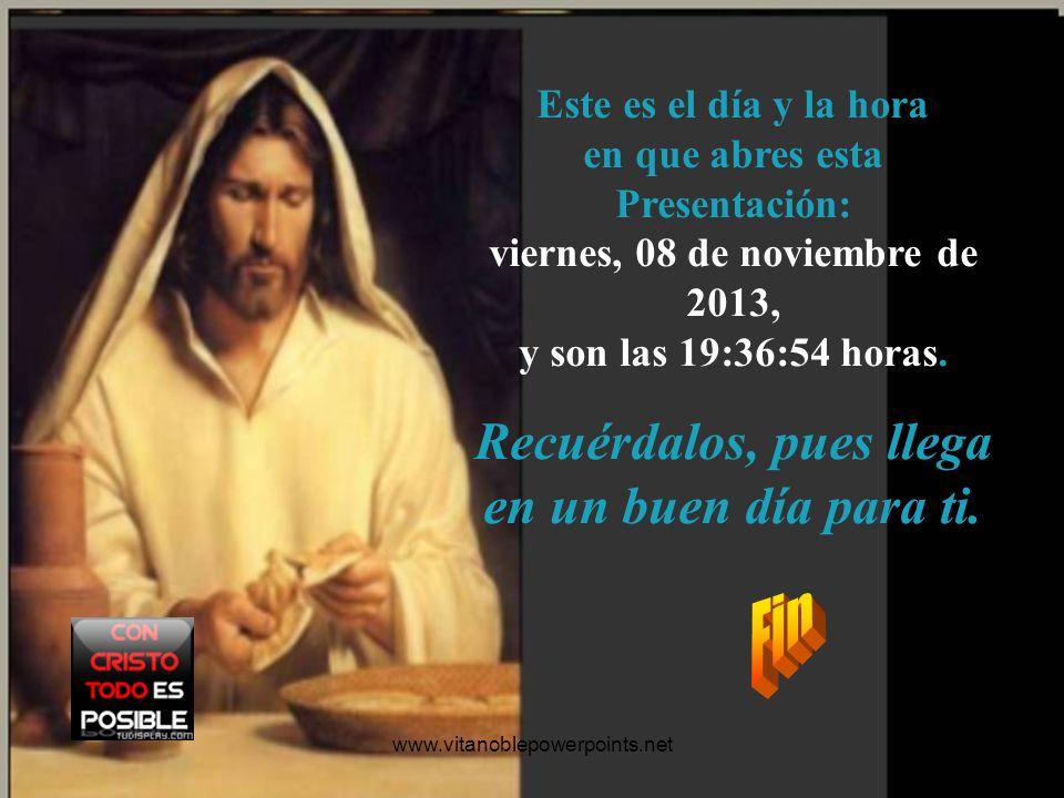 www.vitanoblepowerpoints.net Oración: Señor Jesús: