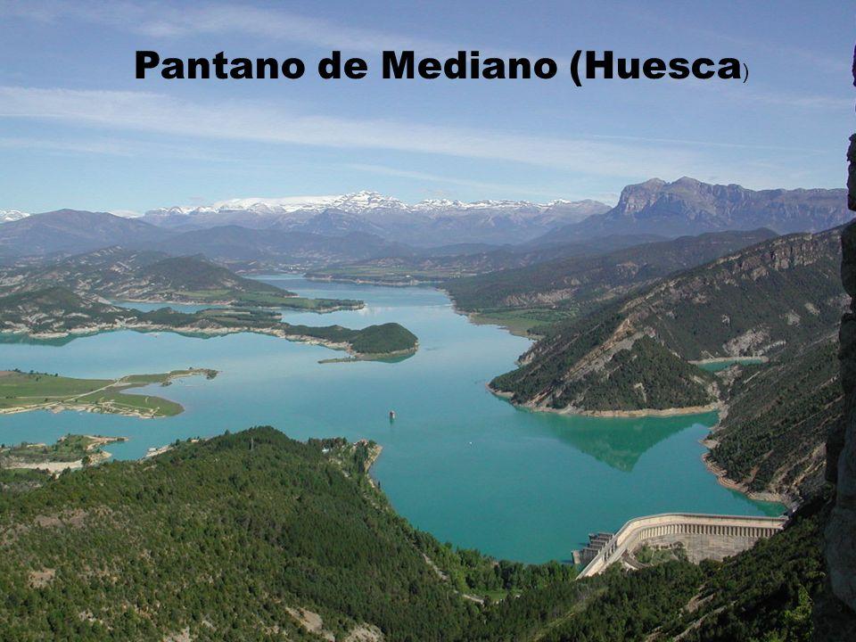Pantano de Mediano (Huesca )
