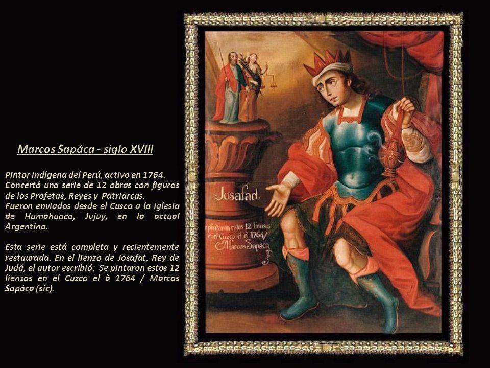Imagen gracias a Elizabeth Kuon Arce Esta obra pertenece a la serie: Las Letanias Lauretanas de Nuestra Señora, se encuentra en la Catedral del Cusco.