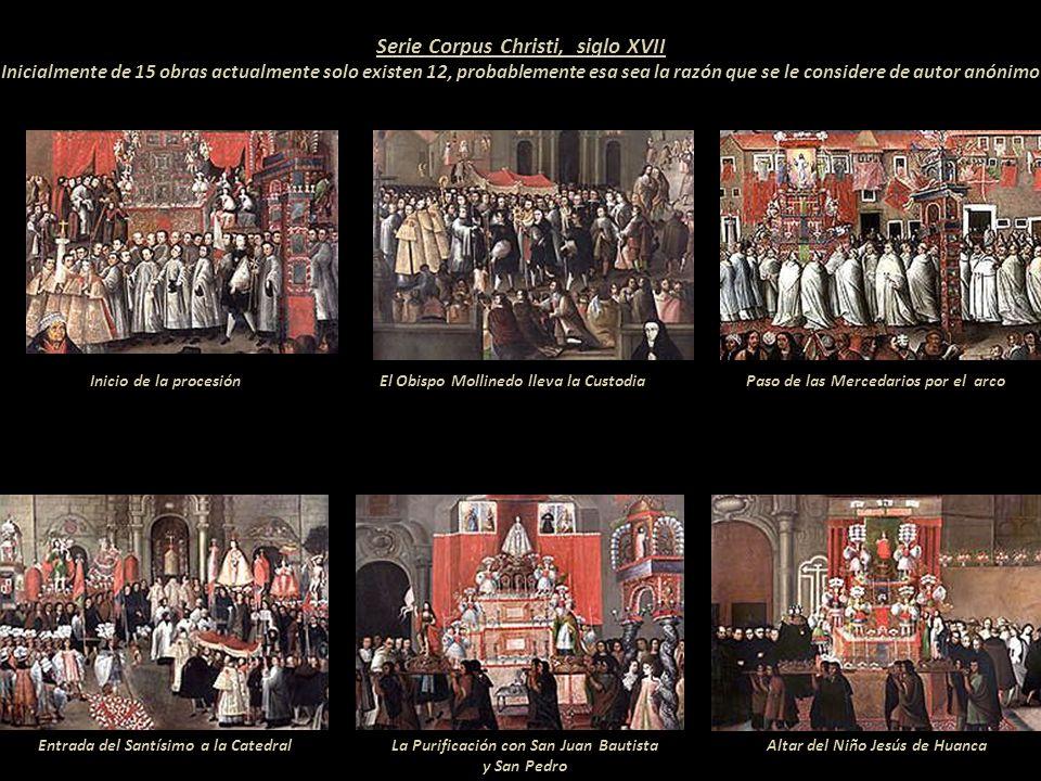 Entre 1673 y 1699 Don Manuel de Mollinedo y Angulo fue el Obispo de la arquidiócesis del Cusco. Conocido como el gran mecenas del arte apoyó el desarr