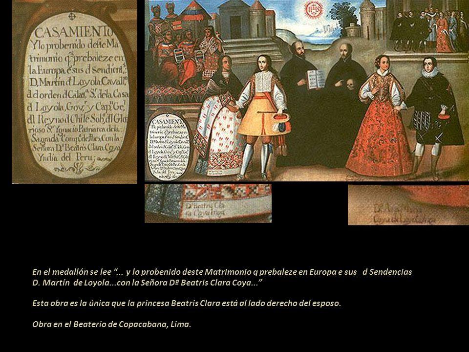 Se sabe que existieron seis versiones de las pinturas de este matrimonio. Las de Juli y Maranganí están perdidas, quedan cuatro que se pueden ver, dos