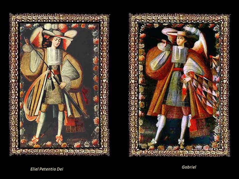 Los Ancángeles Arcabuceros de Uquía. Gracias a la Prelatura de Huamahuaca, Jujuy, Argentina, podemos apreciar algunas obras del Perú Virreinal en la I