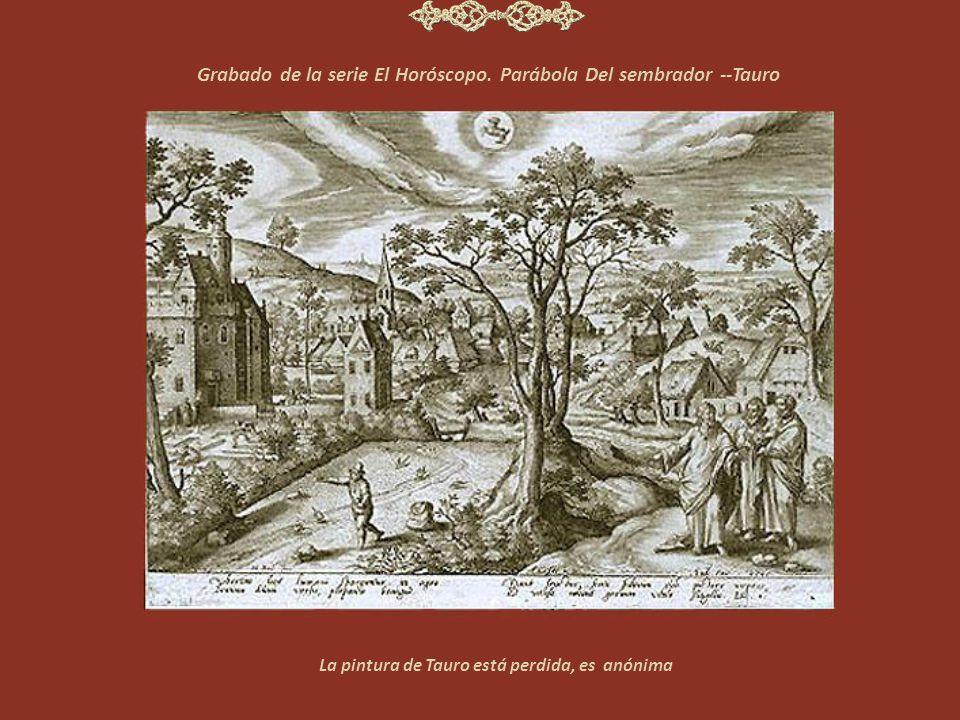 Grabado de la serie El Horóscopo.