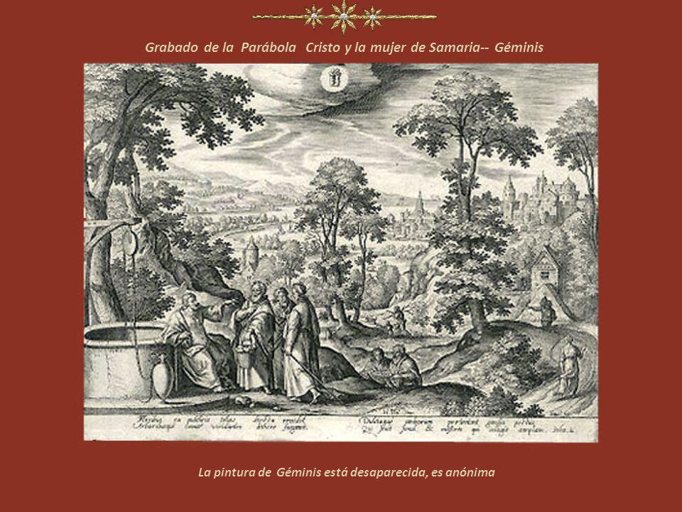 Grabado de la serie El Horóscopo. Parábola Del sembrador --Tauro La pintura de Tauro está perdida, es anónima