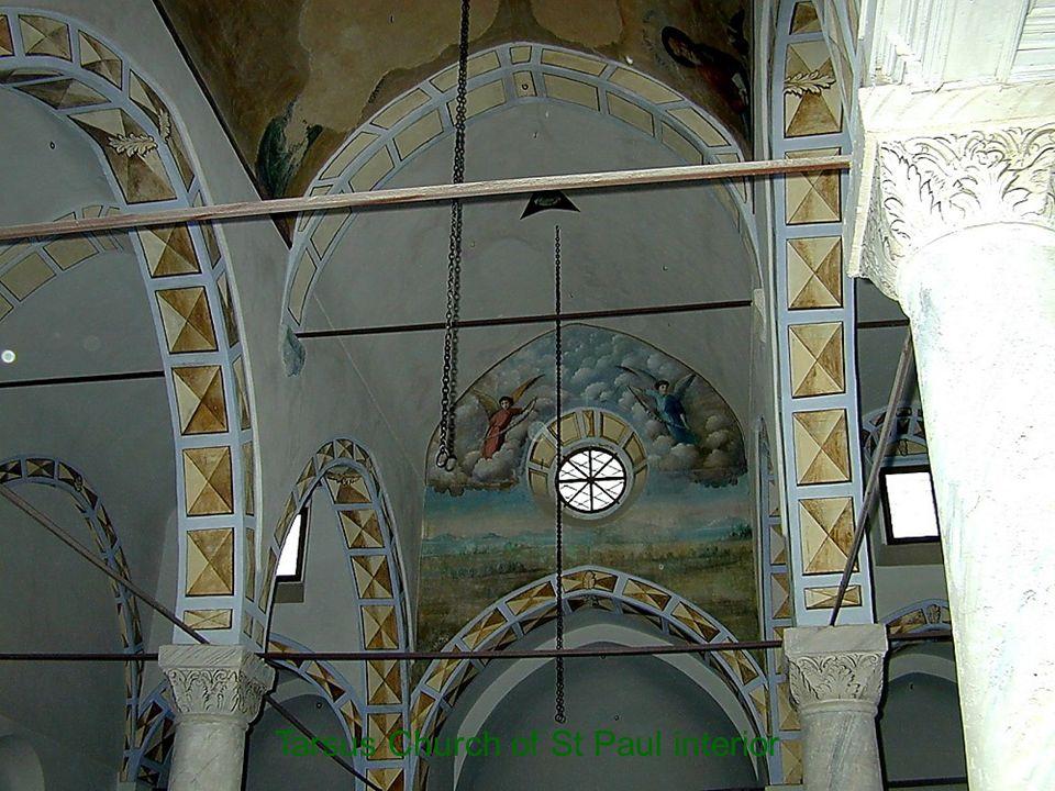 Tarsus Church of St Paul interior