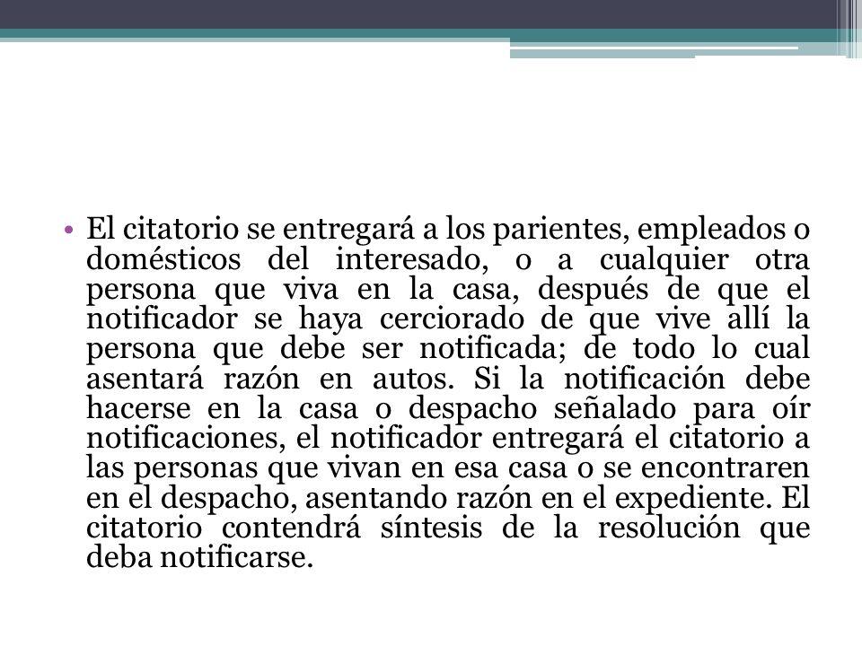 NOTIFICACIONES A LAS AUTORIDADES RESPONSABLES.DOMICILIO PARA PRACTICARLAS.