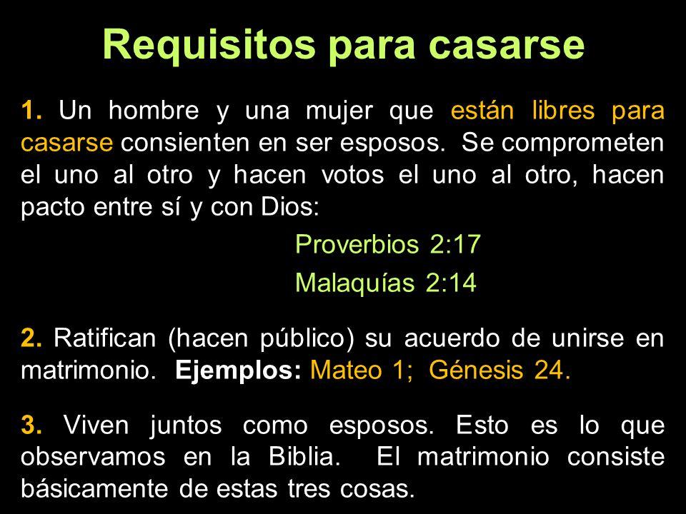 Ni el gobierno ni la iglesia casan 1.
