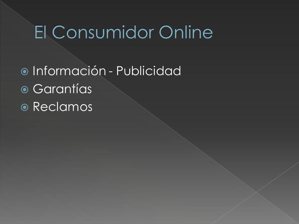 Información - Publicidad Garantías Reclamos