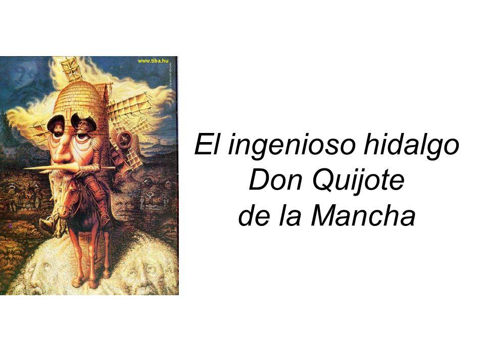 Algunos temas secundarios Crítica literaria: rechazo a las novelas de caballería, novelas pastoriles, y romances al estilo de Lope de Vega.