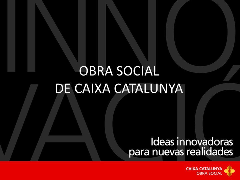 Ideas innovadoras para nuevas realidades 1 OBRA SOCIAL DE CAIXA CATALUNYA