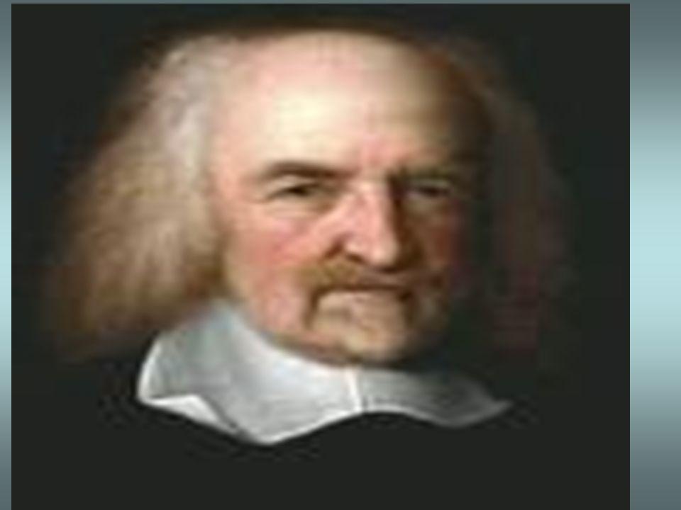 HOBBES, Thomas (1588-1679) Fundador de la concepciòn absolutista, totalitaria del Estado al que llamò LEVIATAN. Lo bueno para el hombre es todo aquell