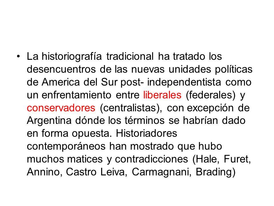 En segundo lugar, Bolívar fue un realista cuando propuso sus fórmulas de organización política de los nuevos países hispanoamericanos.