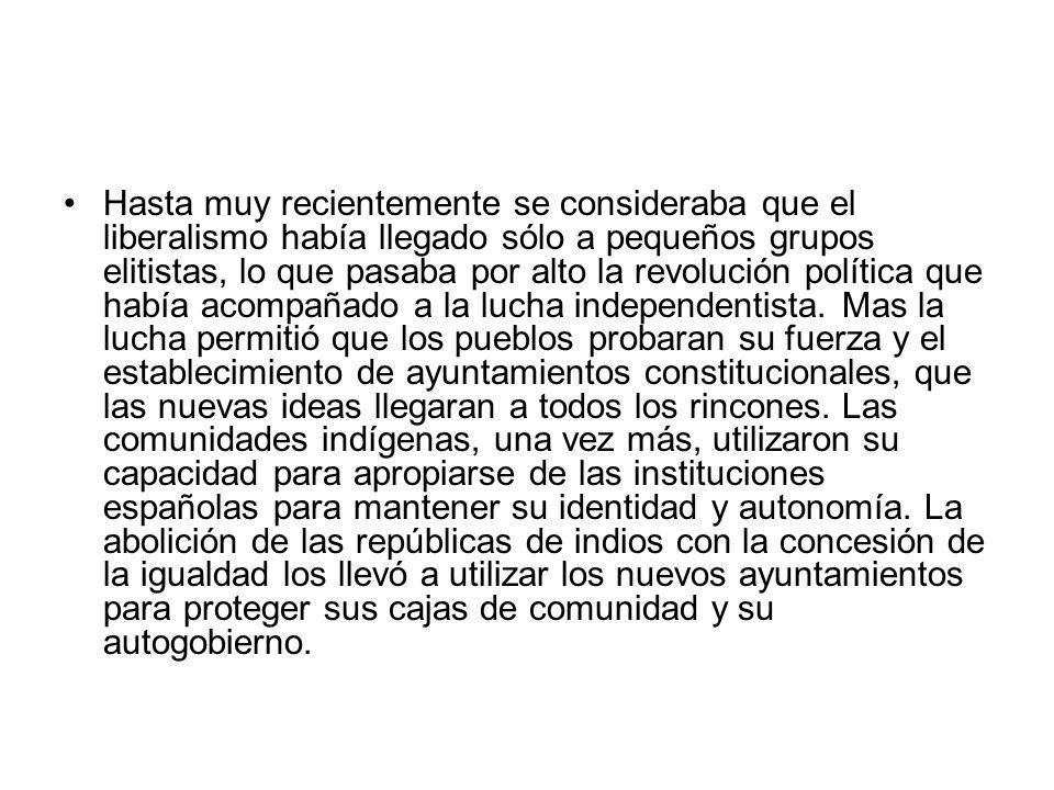 La definición y el choque de los partidos, 1849-1859 La derrota ante los Estados Unidos (1846-1848), la consiguiente pérdida de territorio y los levantamientos indígenas que sucedieron a la guerra sacudieron la conciencia de los mexicanos, lo que contribuyó para que la nueva generación de mexicanos, formados ya en la república independiente, definiera sus principios políticos.