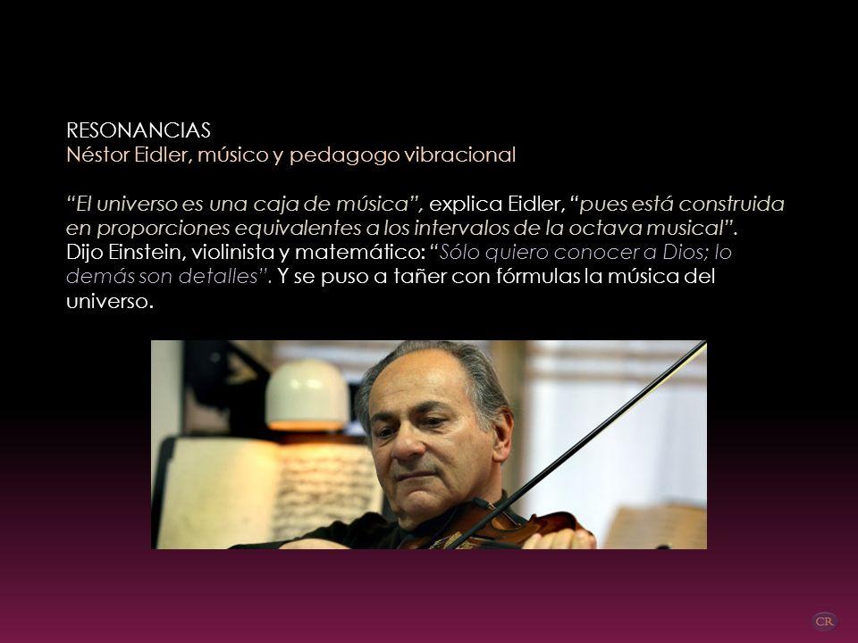 EL UNIVERSO SUENA Y CADA PERSONA TIENE UN SONIDO ENTREVISTA DE LA CONTRA DE LA VANGUARDIA, 14/4/2011