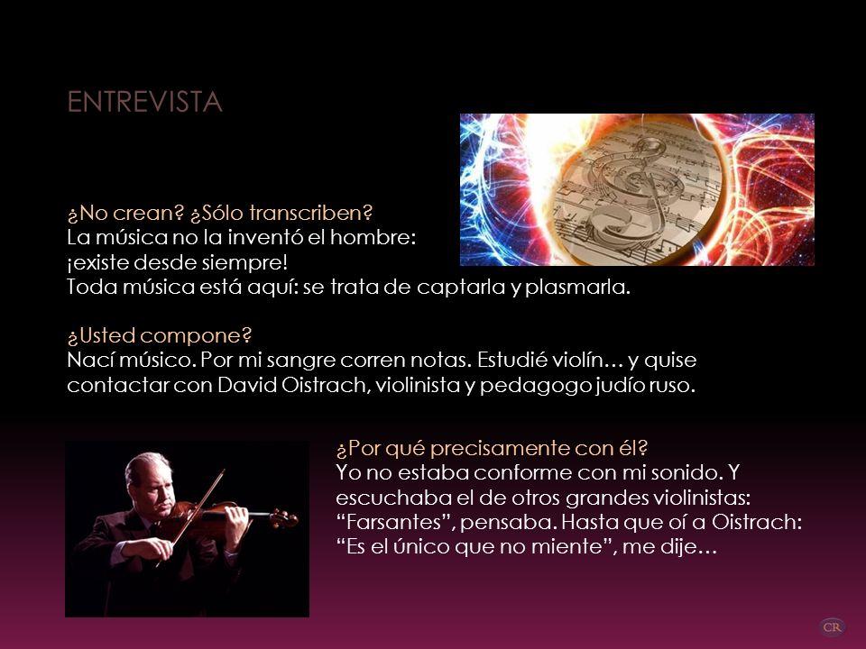 Entonces, el universo suena… ¡Está oyéndolo! Pitágoras (siglo VI a.C.) habló de la música de las esferas: Sin duda Pitágoras tenía muy afinada la perc