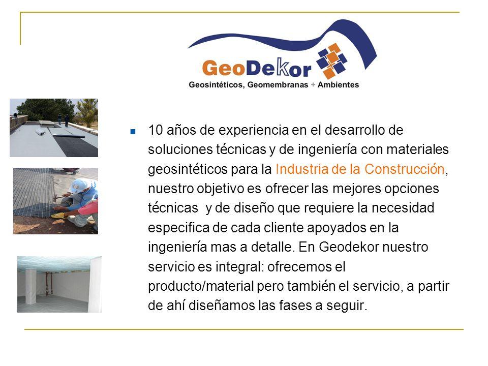 Aplicaciones de los geotextiles en la construcción hidráulica.