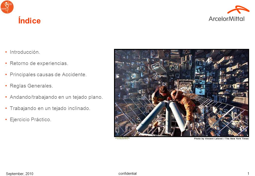 confidential September, 2010 1 Índice Introducción.