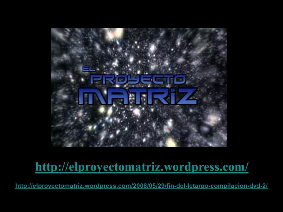 http://elproyectomatriz.wordpress.com/ http://elproyectomatriz.wordpress.com/2008/05/29/fin-del-letargo-compilacion-dvd-2/