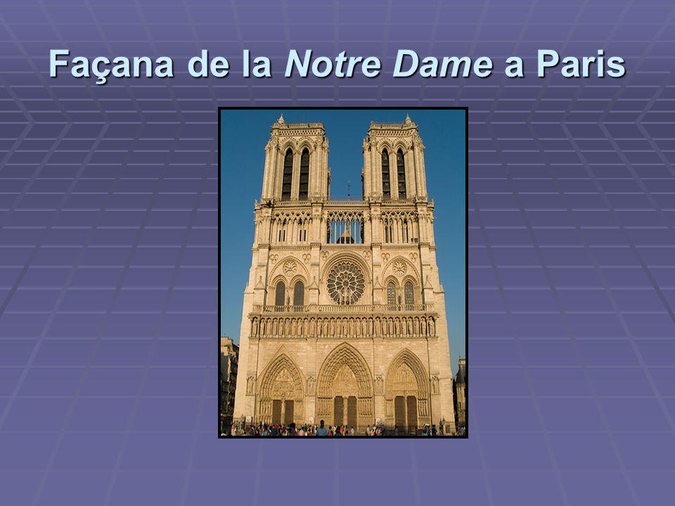 Interior de la Notre Dame de Paris